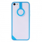 Baseus Protective Plastic Bupmer Frame for IPHONE 5C - Blue + White