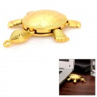 Turtle Style USB 2.0 Flash Drive w/ Chain - Golden (16GB)
