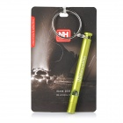 NatureHike Outdoor Emergency / Survival Aluminum Alloy Whistle - Green