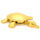 Turtle Style USB 2.0 Flash Drive w/ Chain - Golden (32GB)