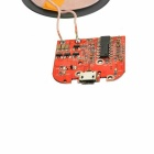 5V 1000mA Qi Wireless Charging Transmitter Module for Cellphone - Red