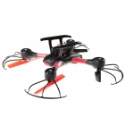 4-CH 2.4GHz R/C Quadcopter w/ 5.8G Real-time Video - Black + Red