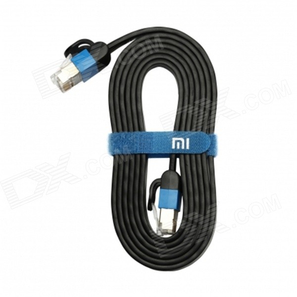 Xiaomi RJ45 M-M Ethernet Internet Network Cable - Black (1.5m)