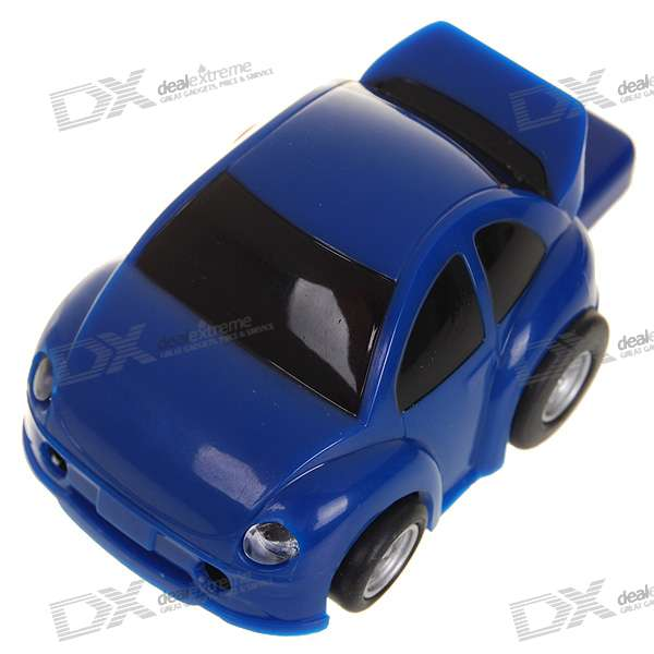 Plastic Car Shaped USB 2.0 Flash/Jump Drive - Blue (2GB) от DX.com INT