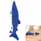 Dolphin Style USB 2.0 Flash Drive - Blue + White (32GB)