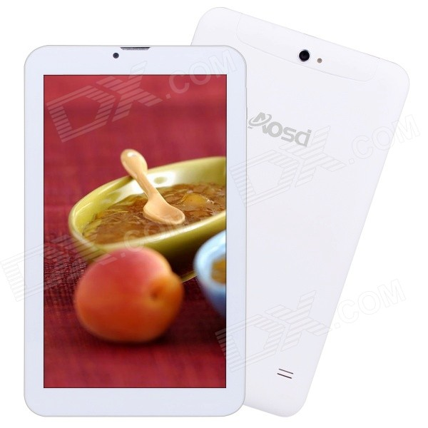 AVOSD S95 dual-core Android 3G tablet 512MB RAM, 8GB ROM - wit + goud