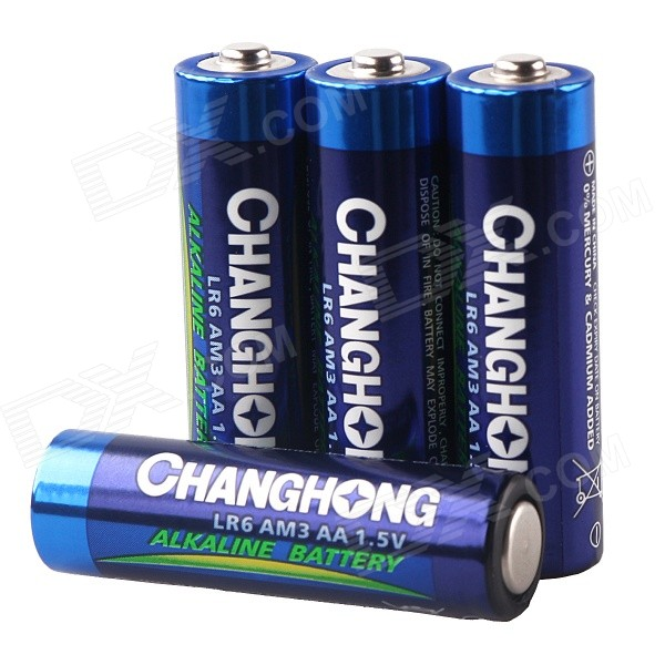 changhong lr6 am3 aa 1 5v alkaline battery pack 4 pcs free shipping dealextreme. Black Bedroom Furniture Sets. Home Design Ideas