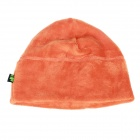 Outdoor Skiing Cycling Riding Polar Fleece Warm-Keeping Hat - Orange