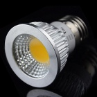 Buy WaLangTing E27 3W COB LED Spotlight Warm White 3300K 250lm - Silver + (AC 100~240V)