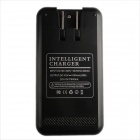 Ismartdigi Battery Charger w/ USB for Samsung Note 4 - Black (US Plugs)