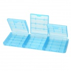 PP Storage Organizer Battery Cases for AA / 14500 / AAA / 10440 (9PCS)