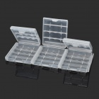 PP Storage Organizer Battery Case for AA / 14500 / AAA / 10440 (9PCS)