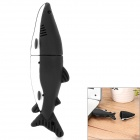 USB-HT Shark Style USB 2.0 Flash Drive - Black + White (16GB)