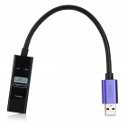 USB 3.0 Gigabit UVC Ethernet Adapter - Black + Navy Blue (21cm)