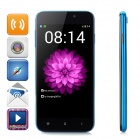 "D6 SC7715 Android 4.4.2 WCDMA Smart Phone w/ 5.0"" FVGA, 1GB RAM, 4GB ROM - Blue + Black"