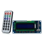 "IN-M015-9 2.5"" LCD Digital Audio MP3 Player Module w/ FM / USB / SD / MMC / Recording (12V)"