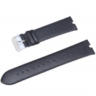 TOCHIC Replacement Leather Band for Motorola Moto 360 Smart Watch - Black