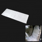 Disposable Plastic Dust-proof Water Resistant Seat Cover for Car - Transparent (50 PCS)