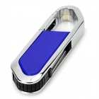 Lâmina do cortador estilo USB 2.0 Flash Drive - azul + prata (4GB)