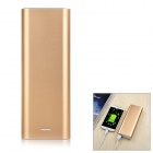 Solder-Free Replaceable 6 x 18650 13200mAh Mobile Power Bank - Gold