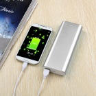 Solder-Free Replaceable 6*18650 13200mAh Mobile Power Bank - Silver