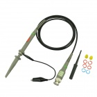 P6400 1X / 10X 400 MHz Oszilloskop Scope Clip Probe - Grau + Schwarz + Multi-Color (120cm-Kabel)