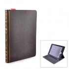 Book Style Protective Flip-Open PU Leather Smart Case w/ Stand for IPAD AIR 2 - Brown