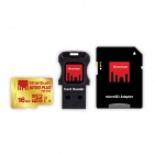 Strontium Nitro Plus UHS-1 (U3) 16GB MicroSD R80 W40 With Adapter & USB Card Reader