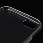Ultra-thin TPU Back Cover Case for IPHONE 6 - Translucent Black