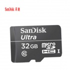 SanDisk Ultra SDQL Micro SDHC / TF Memory Card - Black (32 GB / Class 10)