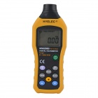 "HYELEC MS6208B 2"" LCD 50~19999 Non-Contact Digital Tachometer - Black + Yellow (4 x AAA)"