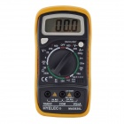 "HYELEC MAS830L 2 ""LCD-Digital-Multimeter - Schwarz + Gelb + Multi-Color (1 x 6F22)"