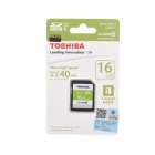TOSHIBA SD hukommelse Card - svart (16GB / Class10)
