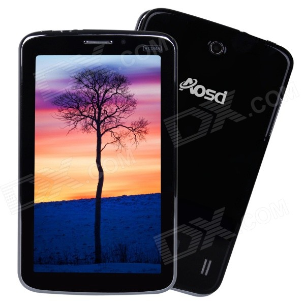 AVOSD P380 dual-core Android 3G tablet w / 512MB RAM, 4GB ROM - zwart