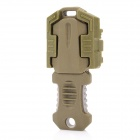 Buckle Pocket Shiv & Adapter w/ Molle Woven Strap Webbing - Army Green