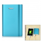 Solder-Free Replaceable 3 x 18650 7200mAh Mobile Power Bank - Blue