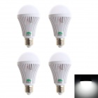 Zweihnder E27 5W LED Globe polttimot Cold White Light (220 ~ 240V / 4PCS)