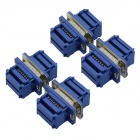 TAD-15P 15P Pressed Wire Serial Port Head Connector - Deep Blue (4 Sets)