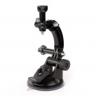 TOZ Car Suction Cup Mount Set for GoPro Hero 1 / 2 / 3 / 3+ / 4 - Black