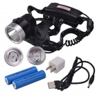 SingFire SF-648G 300lm 3-Mode Green LED USB Hunting Headlamp