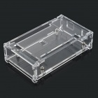 Protective Acrylic Shell Case for Arduino MEGA2560 R3 - Transparent