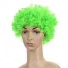 T107 Stylish Explosion Hair Short Curly Wig for Costume Party - Green