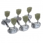 Replacement Tuning Machine Head Key / Tuner Peg for Electric Guitar (6pcs)