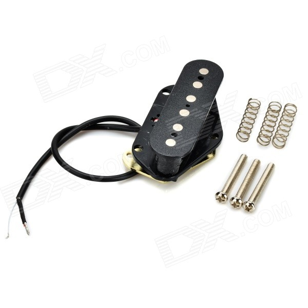 replacement bridge pickup for telecaster tl electric guitar black free shipping dealextreme. Black Bedroom Furniture Sets. Home Design Ideas