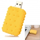 USB-JX Sandwich Biscuit Style USB 2.0 Flash Drive - Yellow (8GB)