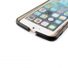 Durable Protective Aluminum Alloy Bumper Frame for IPHONE 6 - Black