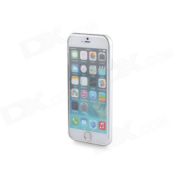 Durable Protective Aluminum Alloy Bumper Frame for IPHONE 6 - Silver