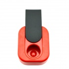 D560 Portable Sliding Closure Ashtray - Red + Black