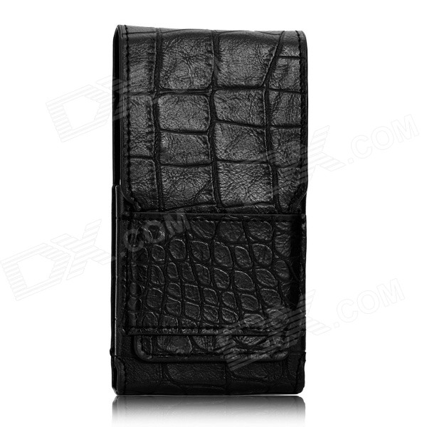 DOOGEE Protective Leather Case for DOOGEE TITANS2 DG700 - Black