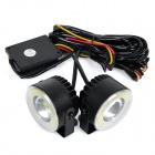 exLED 16W COB 6500K 1300lm White Car Lamp (12~24V / 2PCS)